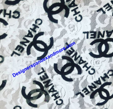 Chanel designer inspired Fabrics [designer spandex and more]