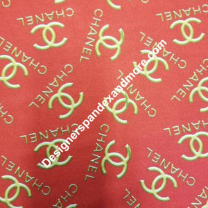 Chanel Designer Inspired Fabric Lycra/Spandex