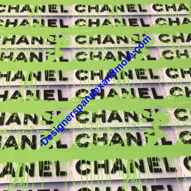 [Chanel Green Paint] - [Designer Spandex and More]