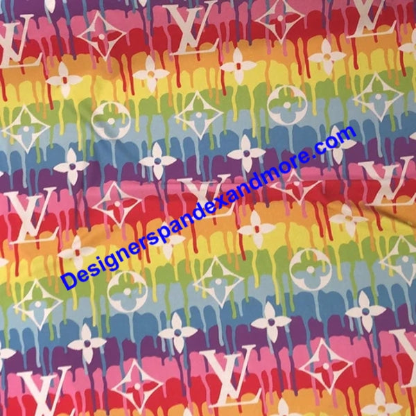 Louis Vuitton Inspired Fabric [designer spandex and more]