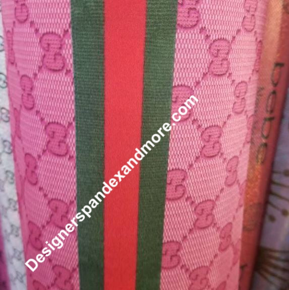 Louis Vuitton Designer Inspired Lycra/Spandex Fabric