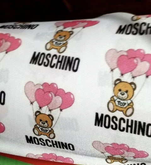 Moschino Designer Inspired Fabric [designer spandex and more}