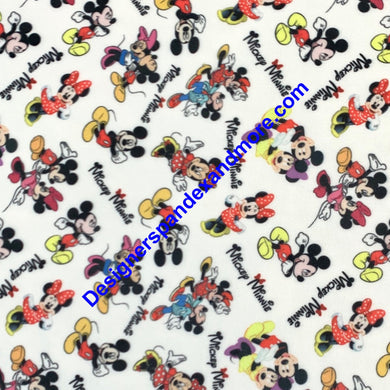 Mickey and Minnie Mouse [Designer Spandex and More]