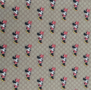 Gucci Minnie Fabric] - [Designer Spandex and More]
