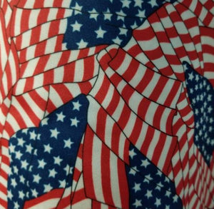 USA Flag Designer Inspired Fabrics [designer spandex and more]