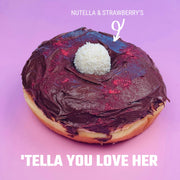 Nutella & Strawberry's Doughnut Mothers Day