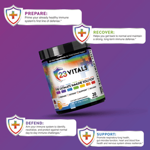 Daily Fuel for Total Immune System Optimization - 23VITALS™