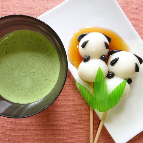 Matcha with sweet