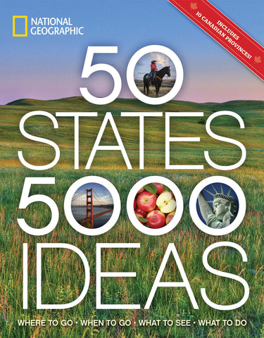 National Geographic 50 States 5000 Ideas Book