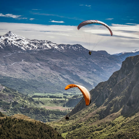 Parasailing in New Zealand