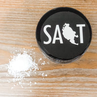 Natural Sea Salt - San Juan Island, WA. (1 oz jar)
