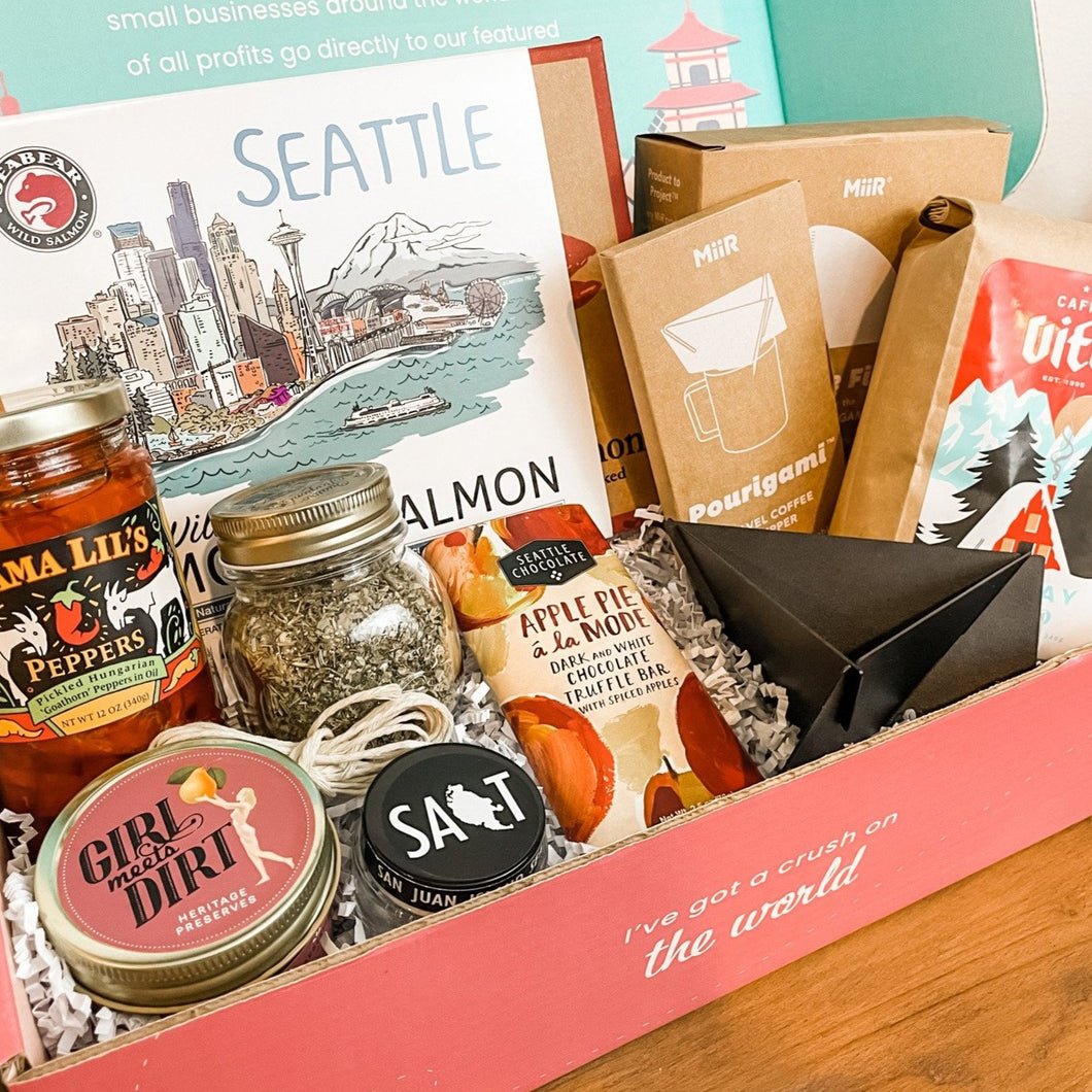 Holiday Gift Box: With love, Seattle - TROVE