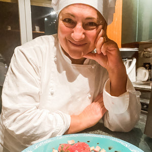 Chef Pat from Florence, Italy will teach you to make truffle ravioli virtually