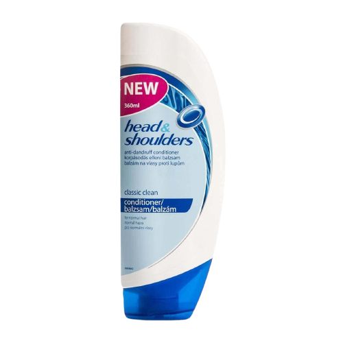 Head & Shoulders Anti-Dandruff Conditioner – Classic Clean for Normal Hair
