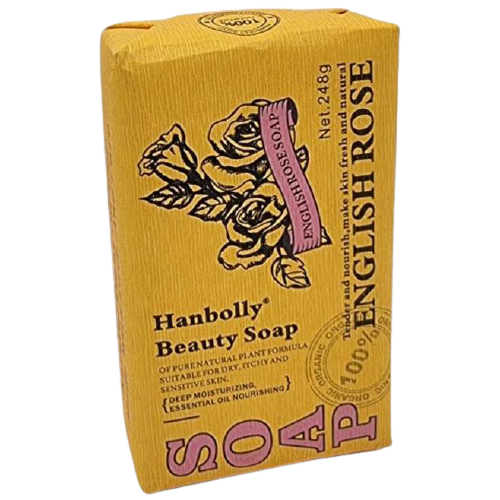 Hanbolly Beauty Soap - English Rose