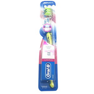 Oral-B Ultrathin Precision Clean Toothbrush - Green