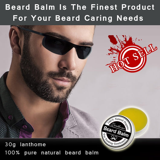 All Natural Beard Growth Conditioner and Beard Balm