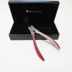 red mircata nail nipper by suwada with box