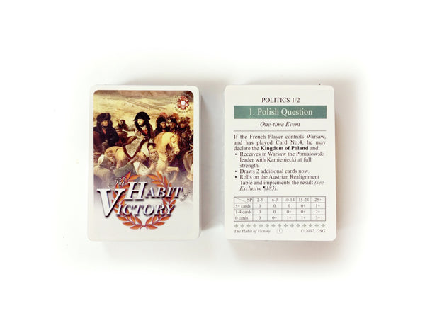 The Habit of Victory, French Deck
