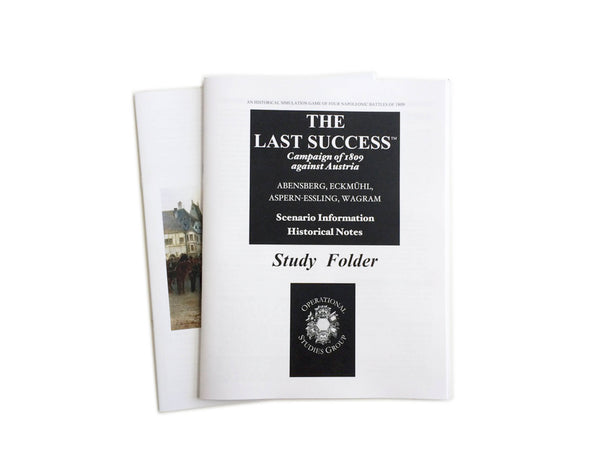The Last Success, Rules Booklets
