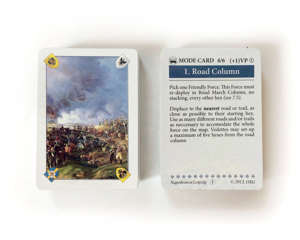 Napoleon at Leipzig, Combined Deck