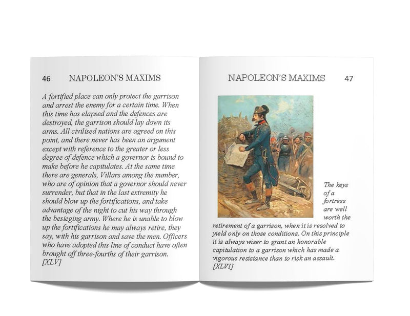 Napoleon's Maxims: A Pocket Reference for Gamers