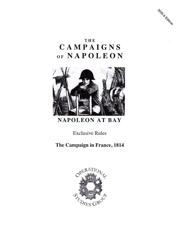 Napoleon at Bay Expansion Kit, Rules Booklets