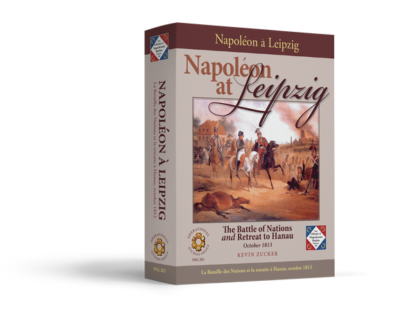 Napoleon at Leipzig Game Box