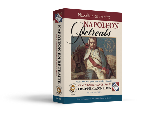 Napoleon Retreats Game Box