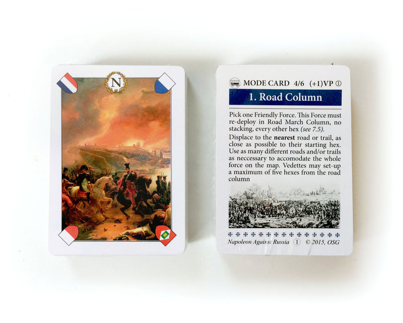 Napoleon Against Russia, French Deck