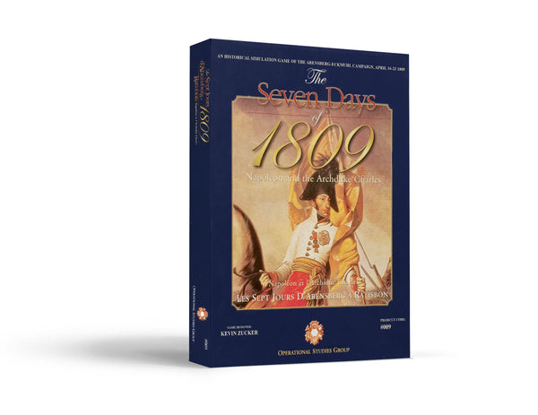 Seven Days of 1809 Game Box