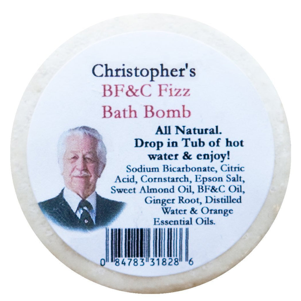 BF&C Fizz Bath Bomb 2 oz. - Christopher's Herb Shop