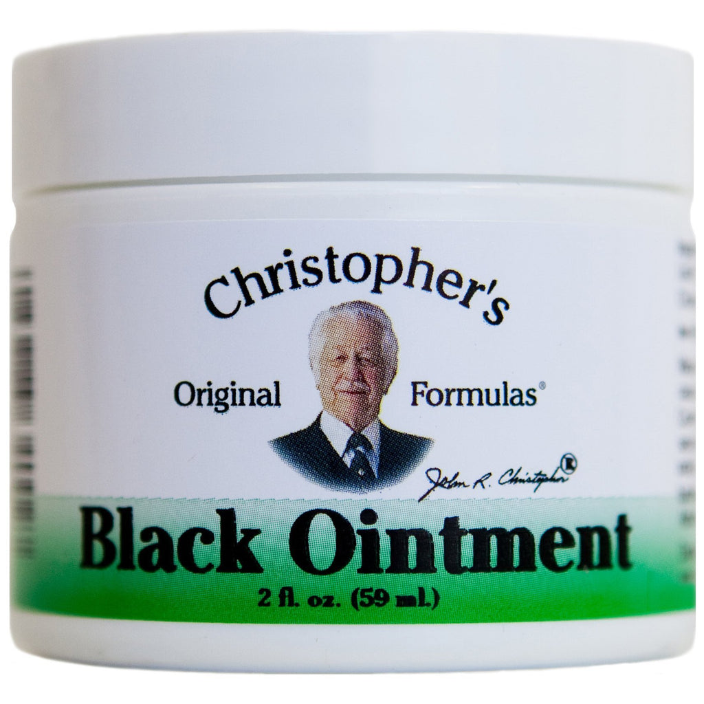 Black Drawing Ointment - 2 oz. - Christopher's Herb Shop