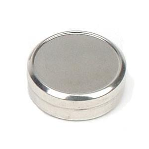 Flat Metal Tin 1 oz - Christopher's Herb Shop