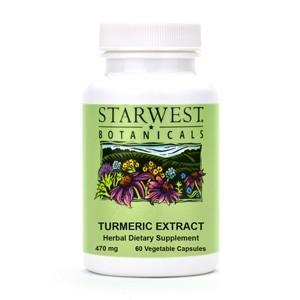 Turmeric Herbal Extract Capsules - Christopher's Herb Shop