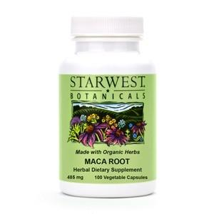 Maca Root Capsules - Christopher's Herb Shop