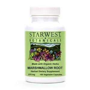 Marshmallow Root Capsules - Christopher's Herb Shop