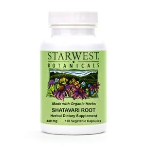 Shatavari Root Capsules - Christopher's Herb Shop