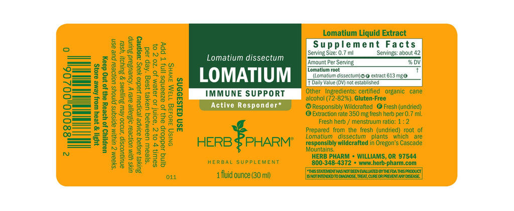 Herb Pharm® Lomatium - 1 oz - Christopher's Herb Shop