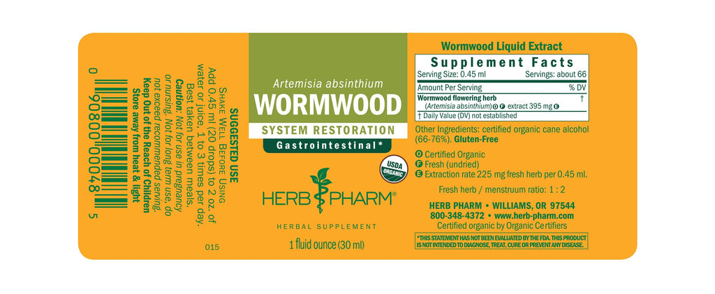 Wormwood - 1 oz - Christopher's Herb Shop