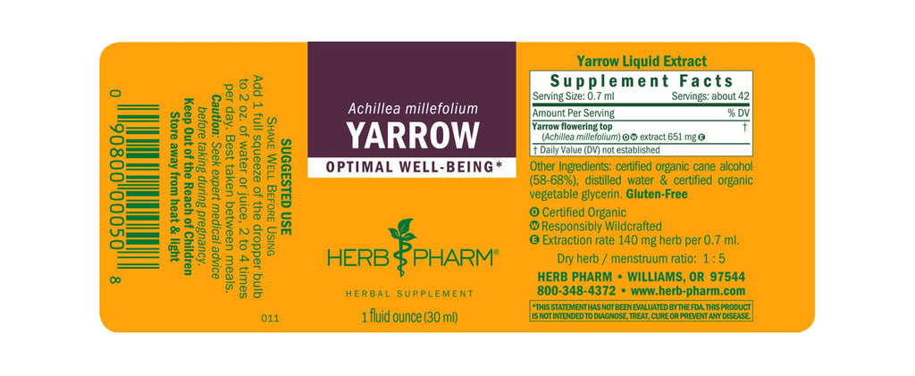 Yarrow - 1 oz - Christopher's Herb Shop