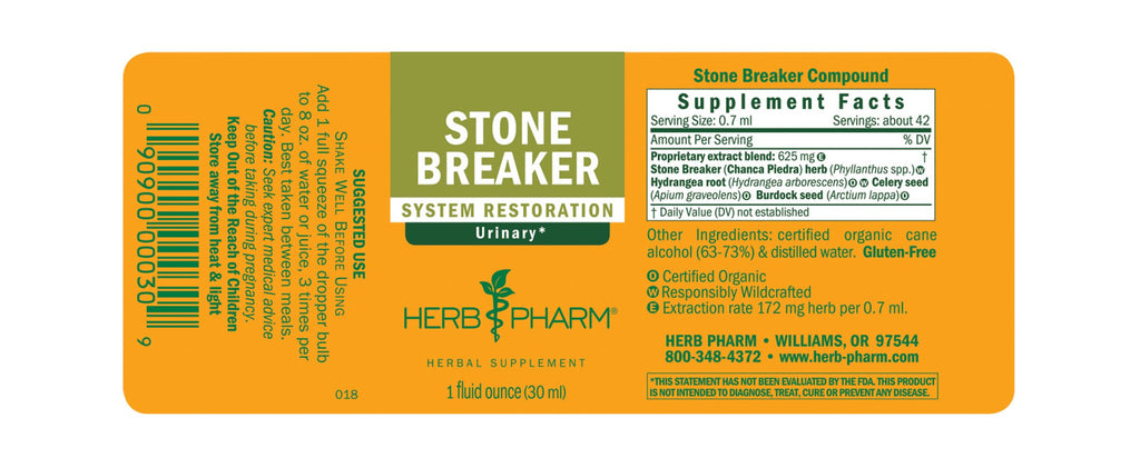 Herb Pharm® Stone Breaker - 1 oz - Christopher's Herb Shop