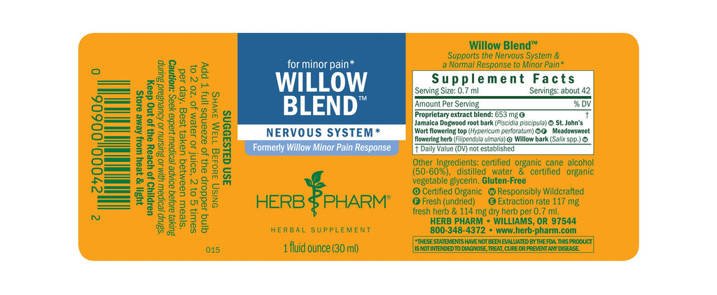 Willow Blend - 1 oz - Christopher's Herb Shop