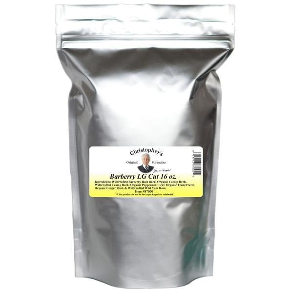 Barberry L.G. (Liver Gallbladder Formula) - Bulk 1 lb. Cut - Christopher's Herb Shop