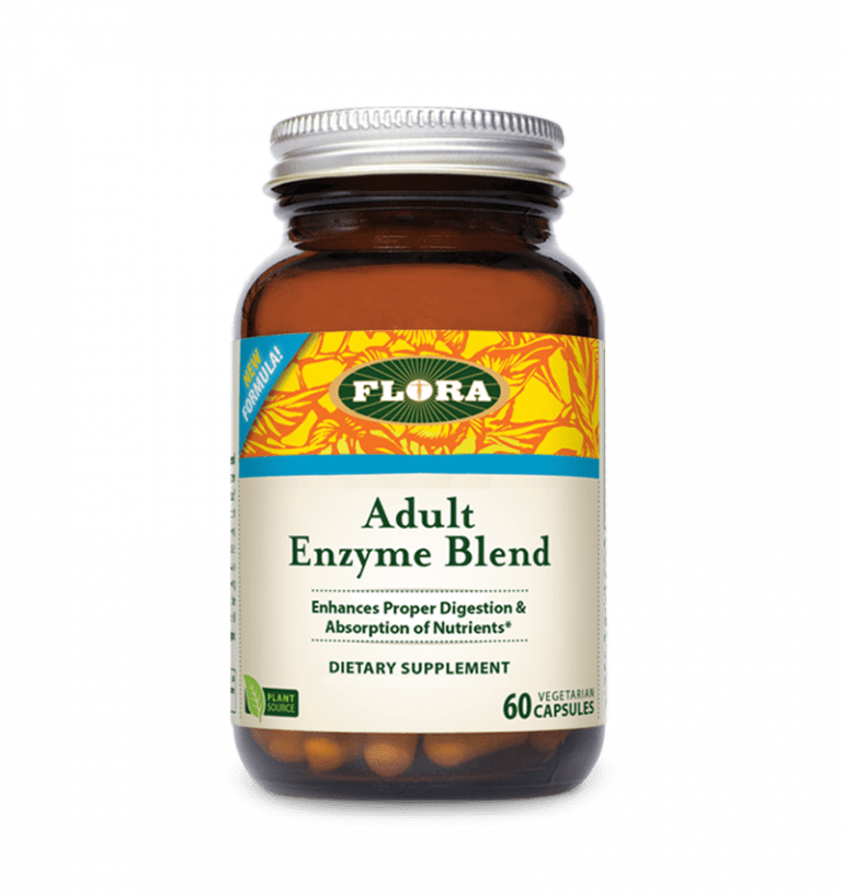 Flora® Adult Enzyme Blend - 60 Capsules - Christopher's Herb Shop