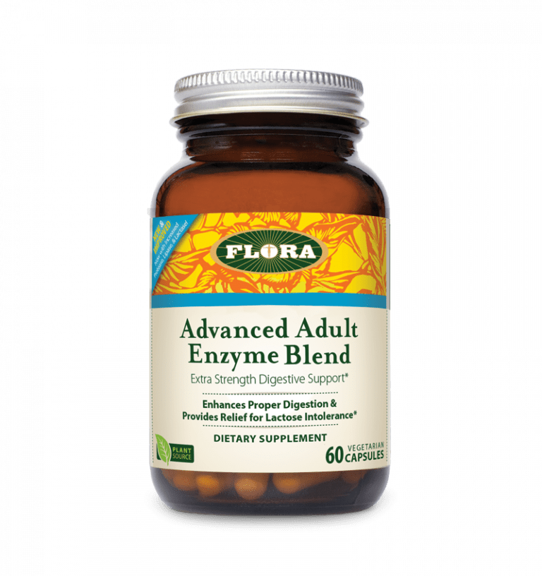 Flora® Advanced Adult Enzyme Blend - 60 Capsules - Christopher's Herb Shop