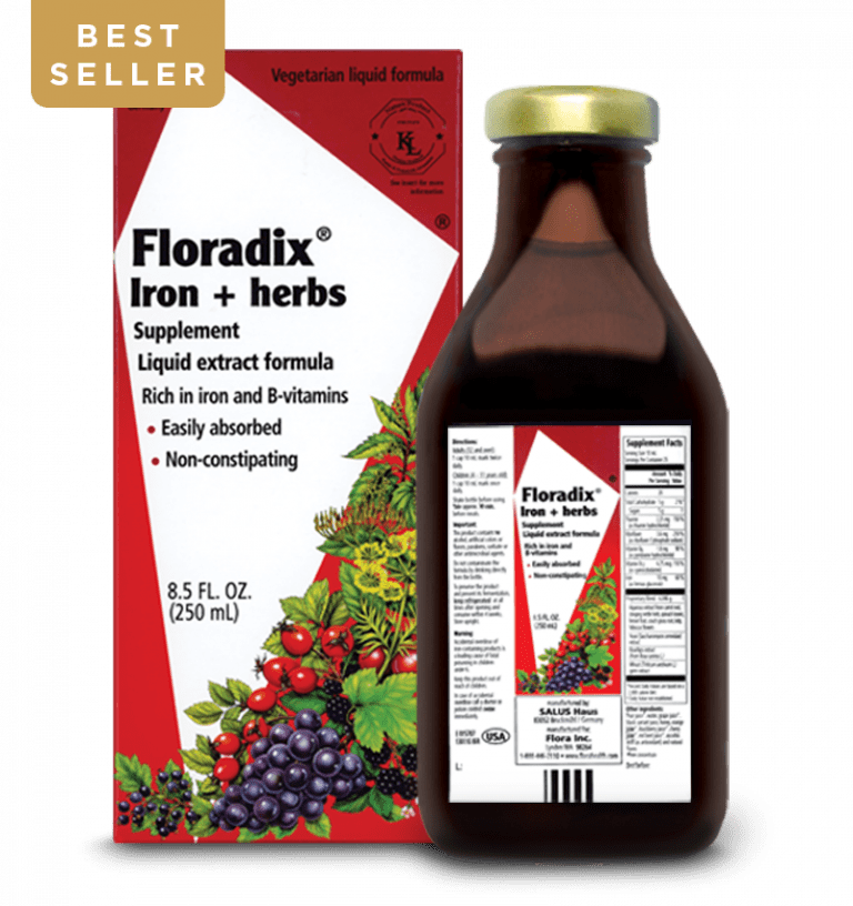 Floradix® Iron + Herbs - Christopher's Herb Shop