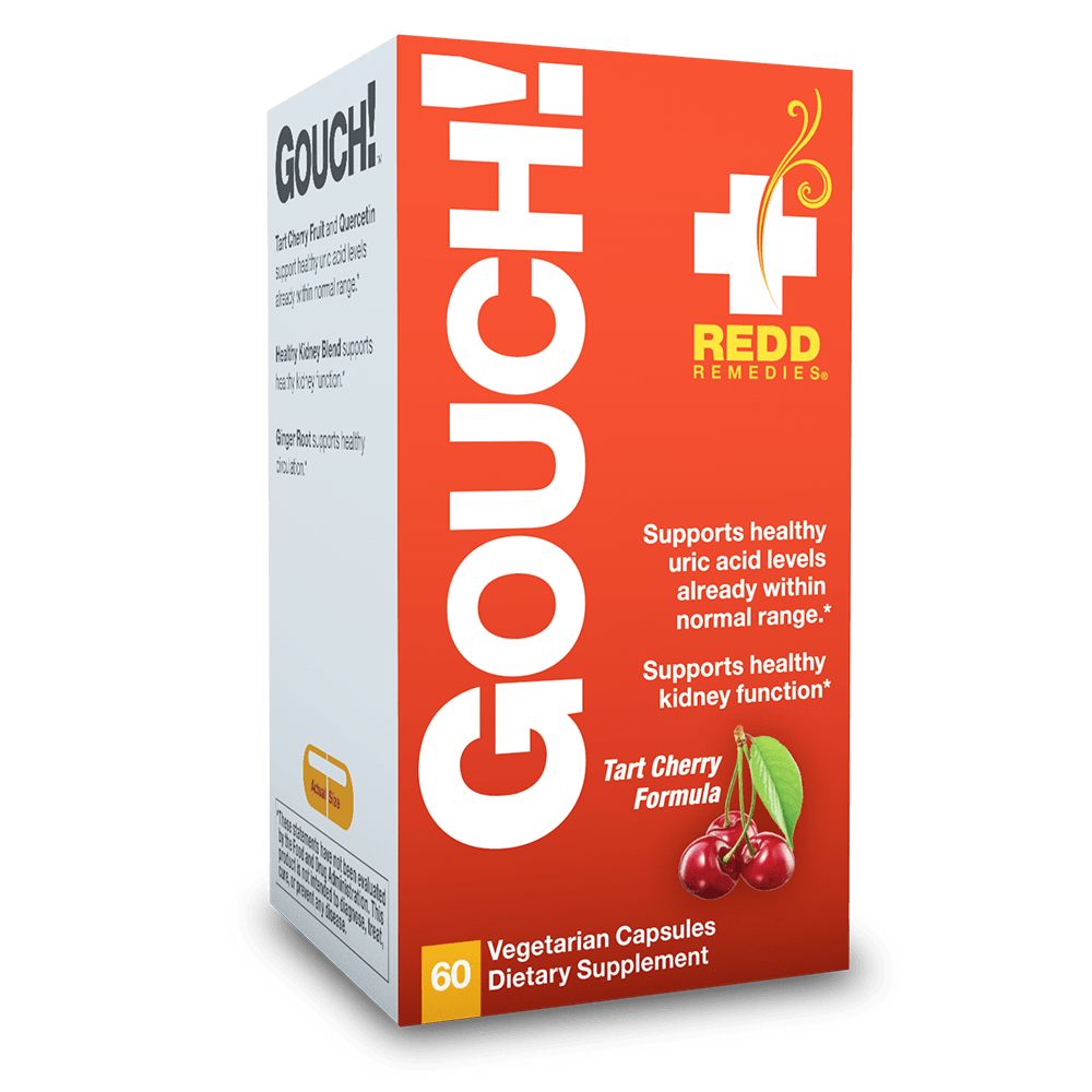 Redd Remedies® Gouch!™ 60 Vegetarian Capsules - Christopher's Herb Shop