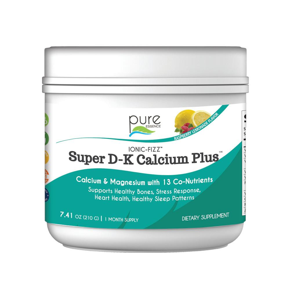 Ionic Fizz Super D-K Calcium Plus™ 7.40 oz - Christopher's Herb Shop