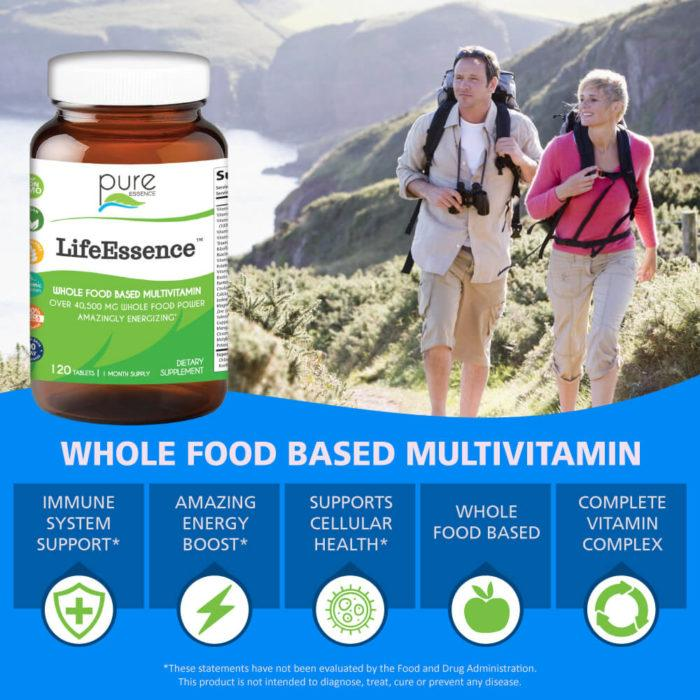 Life Essence™ Multivitamin 120 Tablets - Christopher's Herb Shop